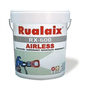 Stucco pronto all'uso per rinnovare superfici irregolari applicabile con airless