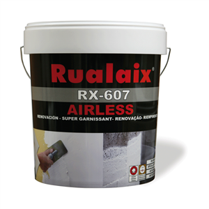 Stucco pronto all'uso per rinnovare superfici irregolari applicabile con airless.
